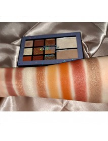 11 Colors Mekeup Platte Earth Color Multi-Function Eye Shadow Blush Highlight 3 In 1 Makeup Tray