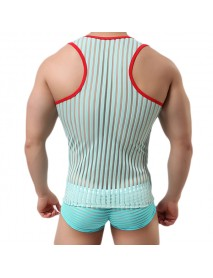 Casual Fashion Mens Summer Breathable Fitness Sleeveless Bodybuilding Vest Tank Tops