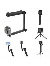 SHOOT XTGP217 Foldable Multi-functional 3-Way Grip Arm Monopod Selfie Stick for GoPro for Smartphone