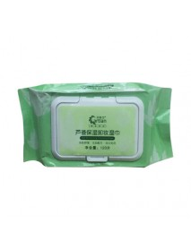 120Pcs Aloe Makeup Remover Face And Lips Gentle Hydrating Moisturizing Makeup Remover Wipes