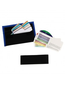 20pcs Color Universal Filter Kit with Bag for Canon Nikon Sony Pentax Olympus Flash Speedlite
