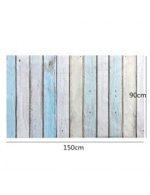 0.9m x 1.5m Wooden Wall Floor Vinyl Studio Photography Backdrop Props Background
