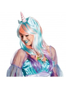 Halloween Party Full Anime Hair Cosplay Colorful Wig