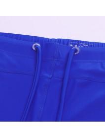 Bodybuilding Nylon Tight Hip Lifting Breathable Swimwear for Men