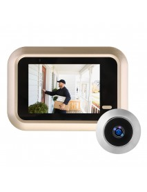 2.4 Inch LCD Digital Video Doorbell Viewer Peephole Security Door Eye Monitoring Camera