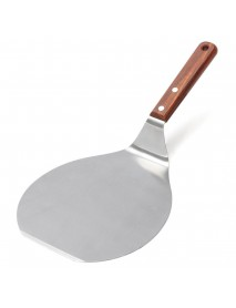 13 Inch Stainless Steel Pizza Plate Spatula Peel Shovel Cake Lifter Holder Baking Tool