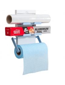 KCASA KC-SR09 Magnet Refrigerator Fridge Sidewall Paper Towel Holder Storage Rack Shelf Organizer