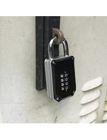 4 Digit Combination Password Key Cabinet Lock Padlock Storage Case Box Safety Security