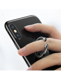 Baseus Metal Strong Adsorption Anti-scratch 360 Degree Rotation Finger Ring Holder for Mobile Phone