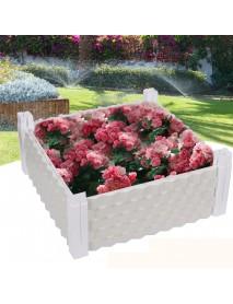 Planting Box Balcony Vegetable Rectangular Family Roof Vegetable Garden Equipment Planting Flowers Potted Plastic Flower Pot