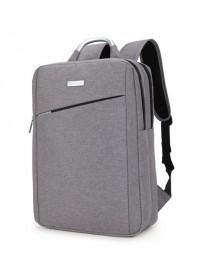 15inch Laptop Nylon Aluminum Alloy Handle Men Backpack Business Travel Backpack