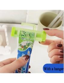 Honana BX- 014 Rolling Squeezer Toothpaste Dispenser Tube Partner Holder Sucker