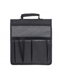 6 Pockets Multifunctional Garden Kneeler Tool Bags for Garden Flat Cart Gloves Shovel Water Can Storage Organization Bag