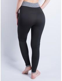 Casual Women High Waist Patchwork Yoga Running Leggings