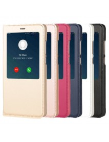 Bakeey Smart Window PU leather Flip Protective Case For Xiaomi Redmi Note 4X/Note 4 Global Edition