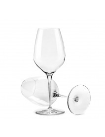 CIRCLE JOY Lead-free Crystal 2PCS / Set Crystal W-ine Glasses 420ML Ch-ampagne Glass Water Cup