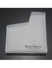 10Pcs White Dust Covers Protector For NES For Nintendo Cartridge Dust Sleeve