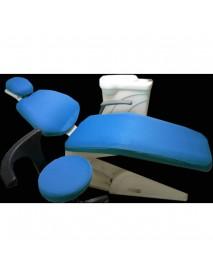 1 Set Washable Elastic Dental Unit Cover Cloth Dentist Chair Headrest Protector Sleeves Tools