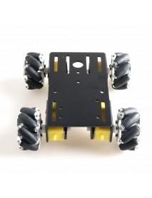 DOIT DIY 1:48 Smart Robot Car Wifi/Bluetooth/Stick Control With 50mm Omni Wheels