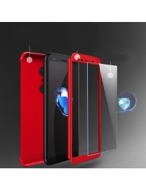 Bakeey 2 in 1 Double Dip 360 Full Protection PC With Screen Protector for Xiaomi Redmi 5/Redmi 5P