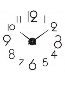 Creative Personality Simple Fashion Wall Clock 3d Acrylic Mirror Wall Stickers Clock Living Room Diy Wall Clock