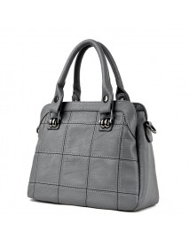 3 Main Pockets Women Casual  Handbag Crossbody Bag
