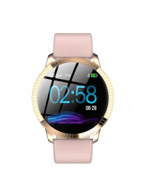 Bakeey 1.22' HD Color Screen Heart Rate Blood Pressure Monitor Female Physiological Reminder Camera Control Smart Watch