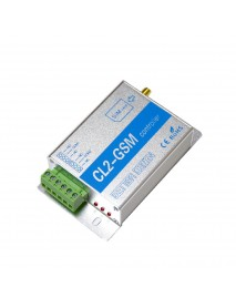 CL2-GSM GSM SMS Remote Controller Smart Remote Control Switch Module 2 Way Relay Output for GSM Gate Opener
