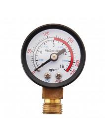 DN20 3/4 Adjustable Brass Water Pressure Regulator Reducer with Gauge Meter