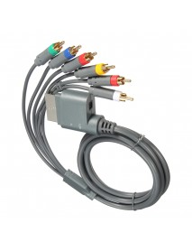 1.8m HDTV Component Composite Audio Video AV High Definition Cable 6 In 1 For XBOX One
