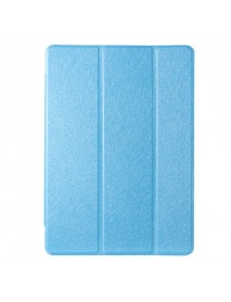Folding Stand PU Leather Case Cover for 10.1 VOYO Q101 VOYO I8 Pro-Blue