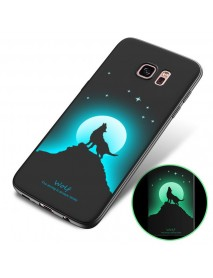 Bakeey 3D Night Luminous Protective Case For Samsung Galaxy S7 Edge