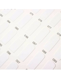 Nail Art UV Gel Tips Display Card Chart Book Hundreds Salon Studio Polish Colors Holder Set