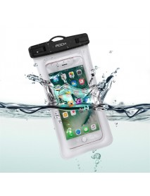 Rock Gasbag IPX8 Waterproof Fingerprint Unlock Screen Touch Phone Pouch Bag for iPhone Xiaomi
