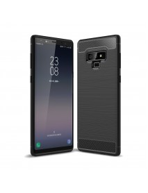 Bakeey Carbon Fiber Brushed Finish Anti Fingerprint Protective Case For Samsung Galaxy Note 9