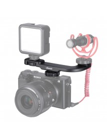 Ulanzi PT-8 Cold Shoe Camera Mount Bracket ABS Material with Cold Shoe Interface for Microphone LED Video Light