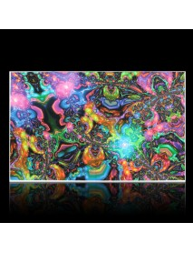 100cmx60cm Psychedelic Trippy Art Silk Cloth Poster Photo Fabric Home Decor