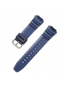18mm PU Strap Replacement Watch Band for Casio AE-1000w AQ-S810W SGW-300H MRW-200H AEQ-110W W-S200H