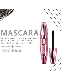 4d Mascara Waterproof Non-blooming Thick Curling Slender Mascara