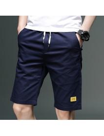 Cropped Trousers Men's Shorts Trend Five Points Casual Pants Men's Self-cultivation Feet Season Men's 7 Pants 8890