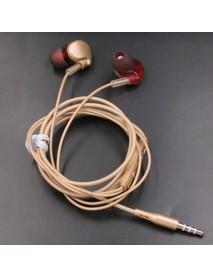 AUGIENB X7 HiFi 3.5mm Wired Control Earphone Stereo Bass Sports Headphone with Mic