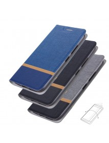Bakeey Flip Cloth Pattern + PU Leather Full Body Protective Case for Xiaomi Pocophone F1