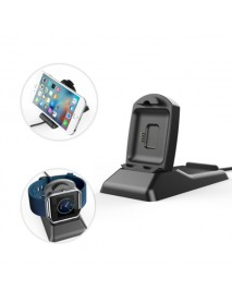 2 in 1 Charging Stand Dock with Phone Holder For Fitbit Blaze Smart Watch