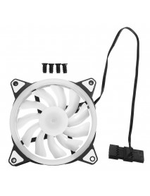 1 PCS Dual LED RGB Computer Case PC Cooling Fan for Gaming Computer