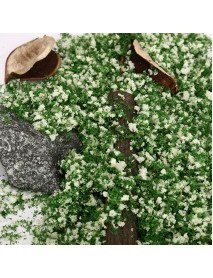 DIY Handmade Building Model Material Grass Tree Sponge Powder Green Mixture Pollen
