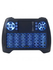 2.4GHz Mini Backlit Wireless Keyboard Air Mouse with Touchpad For Android TV Box Mini PC