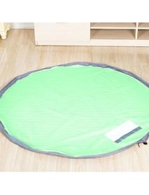 Portable Floor Mat Kid Toy Oxford Foldable Storage Bag Drawstring Beam Port Finishing Organizer