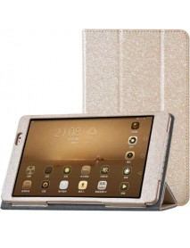 Tri-fold Stand PU Leather Case for Huawei MediaPad M2 Tablet