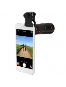 18X Zoom Optical Telescope Camera Lens with Manual Focus Telephoto lens For Smartphones Tablet