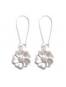 Fashion Jasmine Flower Drop Earrings Elegant Piercing Earring for Women